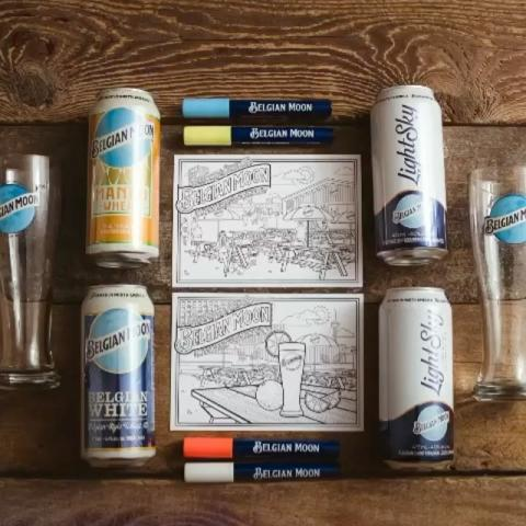 Time to get crafty with our Belgian Moon Brewery Box 😉🍻Available for purchase on the Click + Collect market @stacktmarket until July 3rd. Head to the link in bio to get yours, and make sure to tag us in your masterpieces at @belgianmoon #belgianmoonbrewerybox we can't wait to see them!