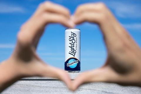 The #LightSky love is real. It's love at first sip.