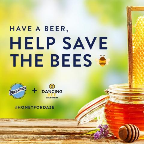 Saving the bees' greatest craft is as sweet as it gets! We've partnered with @dancingbeeequipment to help plant 100,000 pollinator flowers in their new pollinator garden. We will be planting one pollinating flower for every can produced up until #WorldBeeDay on May 20.   So head to your nearest store, pick up some Honey Daze and help spread the word so we can have #HoneyForDaze